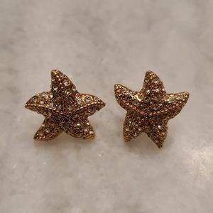 JCrew Starfish Earrings